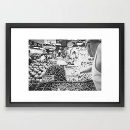 Pike's Place Market Framed Art Print