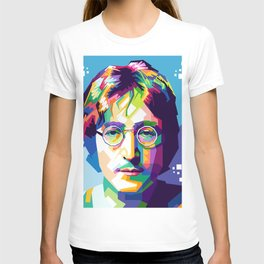 John Lenon In Pop Art T-shirt