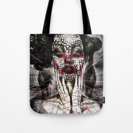 Black Siren Tote Bag