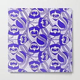 """Koloman Moser """"Textile pattern (Geometrical)"""" (2) Metal Print"""