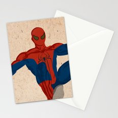 spiderman, spiderman does whatever a spider can Stationery Cards
