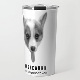 Corgi Meme Travel Mug
