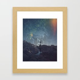 My Own Burden Framed Art Print