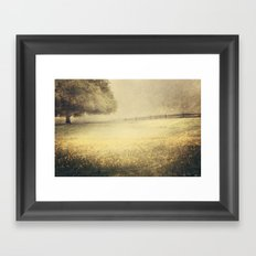 Yesterday's Fog Framed Art Print