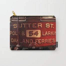 S.F. Cable Car Carry-All Pouch