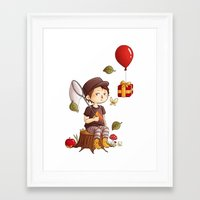 animal crossing Framed Art Prints featuring Animal Crossing by MaliceZ