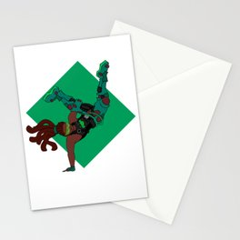 DJ Lucio groovin to the beat Stationery Cards