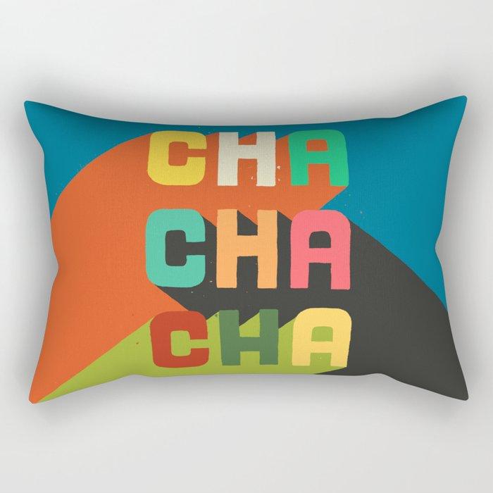 Cha cha cha Rectangular Pillow