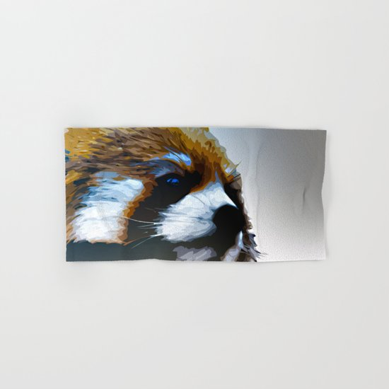 Red Panda Hand & Bath Towel