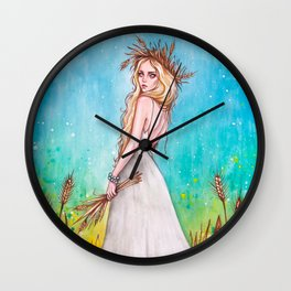Lady Midday Wall Clock