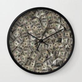 Full of franklins Wall Clock