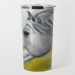 Horse Profiles 1 Travel Mug