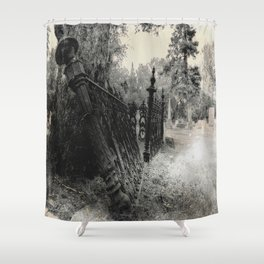 Expired Shower Curtain