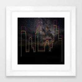 star night Framed Art Print