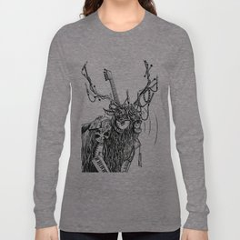 Cable Elk. Long Sleeve T-shirt