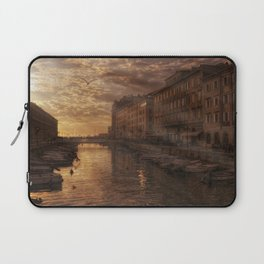 The Canal in Trieste Laptop Sleeve