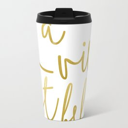 La vie est belle #society6 #typography #buyart Travel Mug