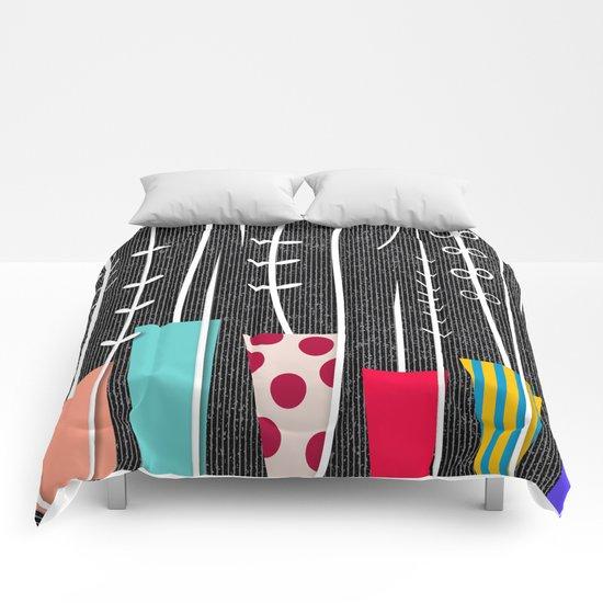 Wild Plants Comforters