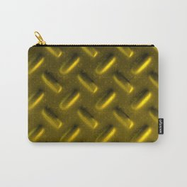 Dirty checkered gold plate Carry-All Pouch