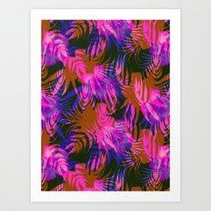 Honolua Neon Art Print