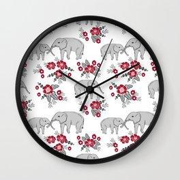 Alabama university crimson tide elephant pattern college sports alumni gifts Wall Clock