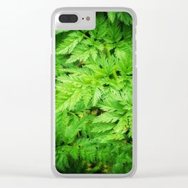 Leafy Greens DPSS170416b Clear iPhone Case