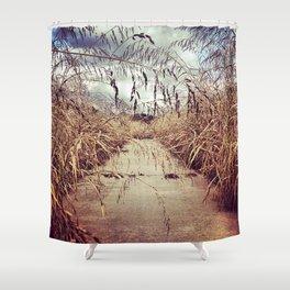 Overgrowth Shower Curtain
