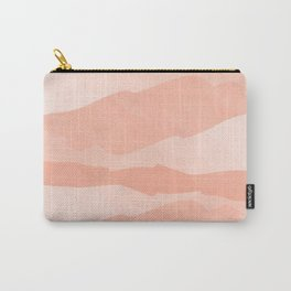 Abstract Watercolor Living Coral Carry-All Pouch