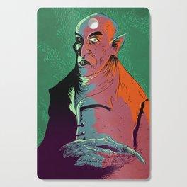 Nosferatu At Rest Cutting Board