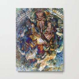 Fabulous Ganesh Metal Print