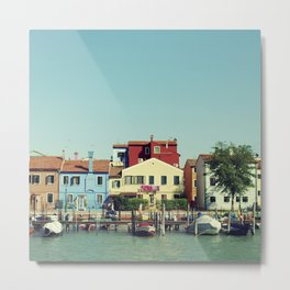 Burano, the beautiful Metal Print