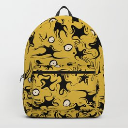 Stars In a Yellow Sky Backpack