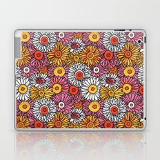 Daisy Pattern Laptop & iPad Skin