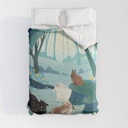 Forest Bunnies Comforters