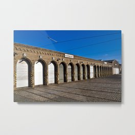 Old tram depot of Berlin Metal Print