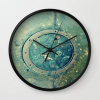 portal Wall Clocks featuring Portal by Labartwurx
