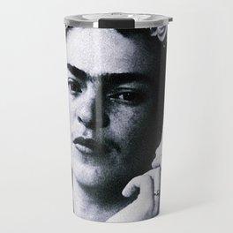 Frida Kahlo Smoke Travel Mug