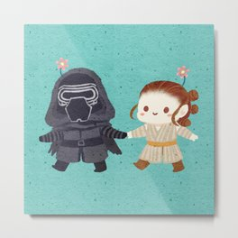 Reylo - Just the two of us Metal Print