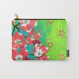 Twilight Dogwood Carry-All Pouch