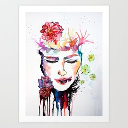 Liquid Dreams Art Print