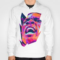 nba Hoodies featuring ERIC BLEDSOE: NBA ILLUSTRATION V2 by mergedvisible