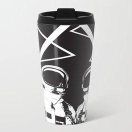 Time and Space  Metal Travel Mug