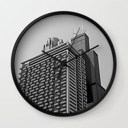 Don't Look Behind You Wall Clock