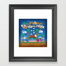 Island Adventure, too Framed Art Print