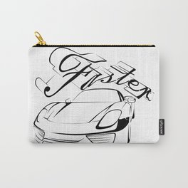 Racecar in tribals Carry-All Pouch