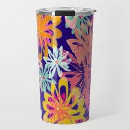 FlowerHex Travel Mug