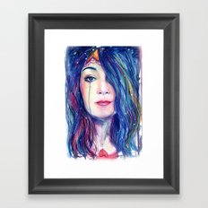 Our Lady of The Deep Framed Art Print
