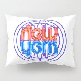 """Neon New York"" Lakeview Mirror Image Pillow Sham"