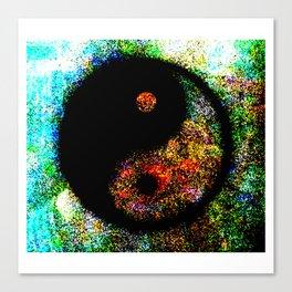 Yin Yang Multi jGibney The MUSEUM Society6 Gifts Canvas Print