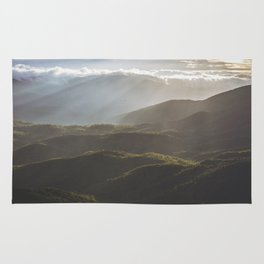 Sunrise In North Georgia Mountains 6 Rug